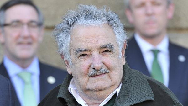 José Mujica byl prezidentem Uruguaye v letech 2010 až 2015.