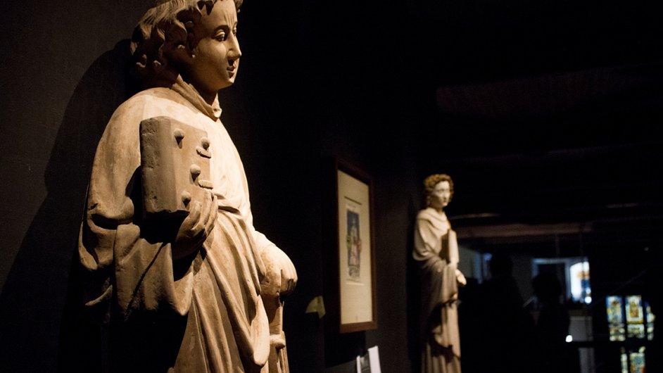 Výstava Císař Karel IV. 1316 - 2016 ve Valdštejnské jízdárně.