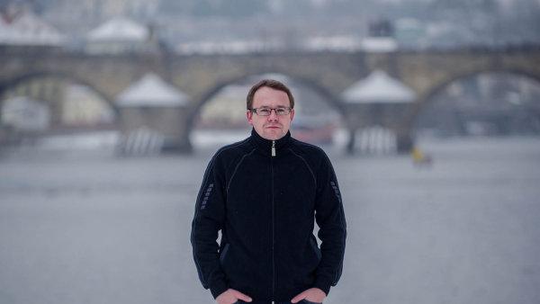 Na snímku je spisovatel Michal Vrba.