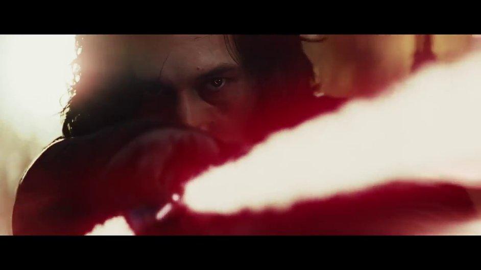 Snímek z traileru na nové Star Wars.