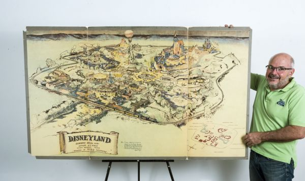 Historická mapa Disneyland
