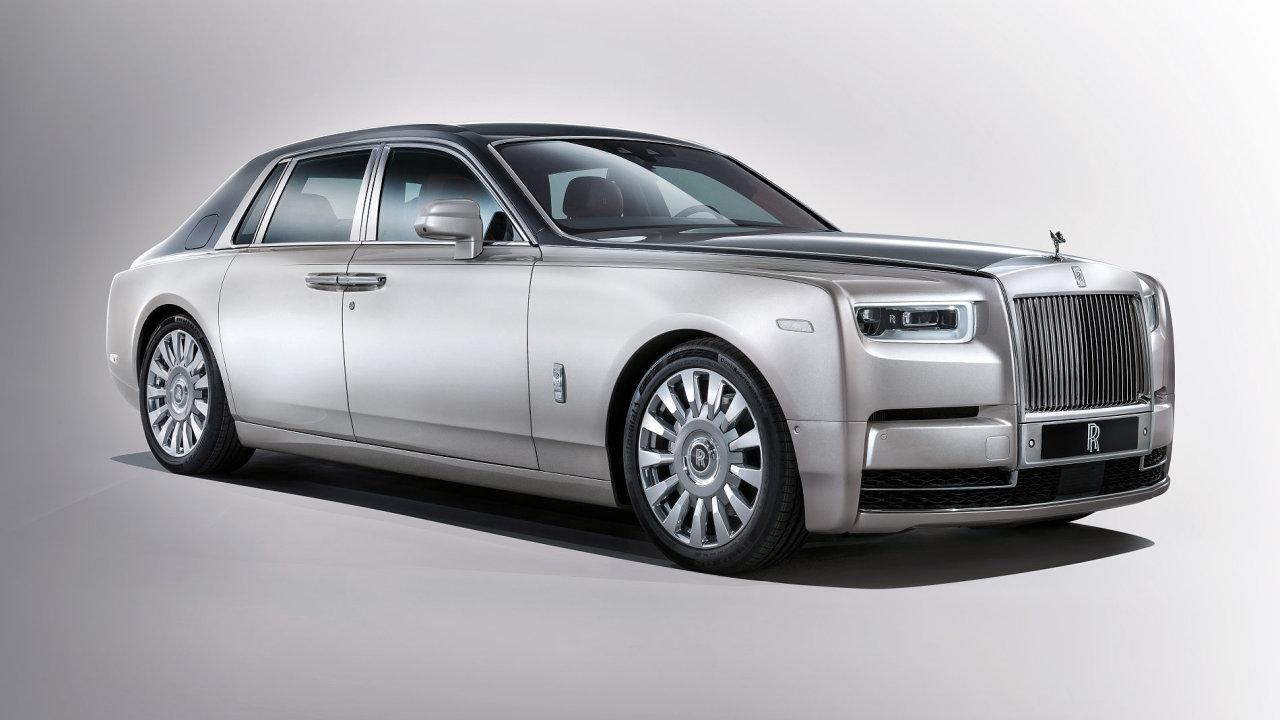 Osmá generace modelu Rolls-Royce Phantom.