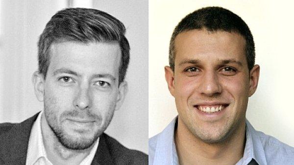 Jan Damašek a Ivan Mandrapa, Account manažeři v agentuře Fallon Prague