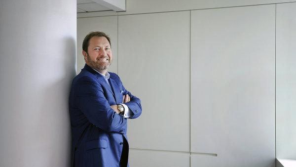 Petr Koblic, generální ředitel Burzy cenných papírů Praha