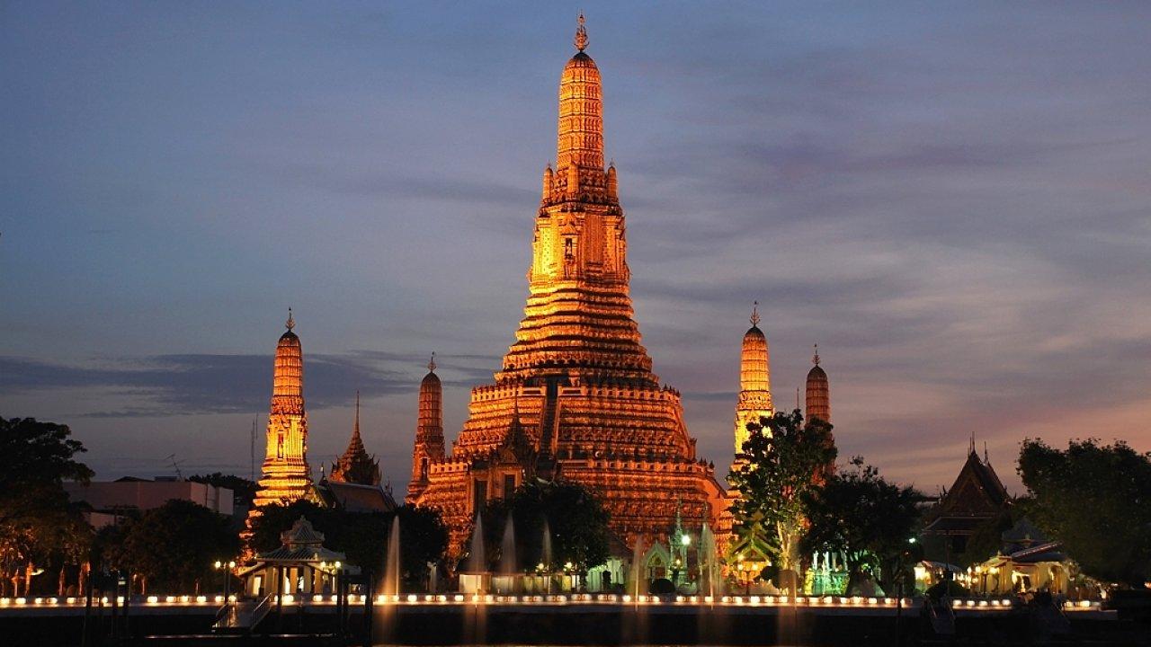 Thajský Bangkok je skvělé místo pro exotickou dovolenou.