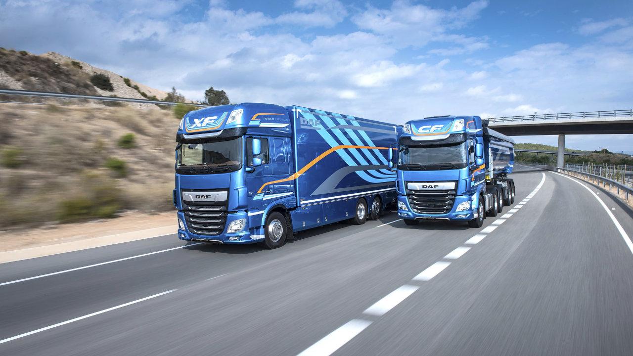 Nová generace modelů DAF XF a CF získala ocenění International Truck of The Year 2018