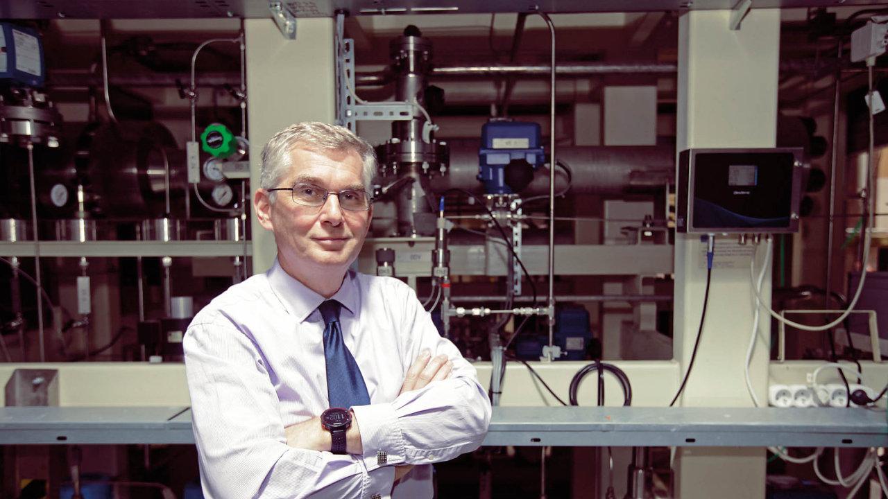Ředitel Centra výzkumu Řež Martin Ruščák