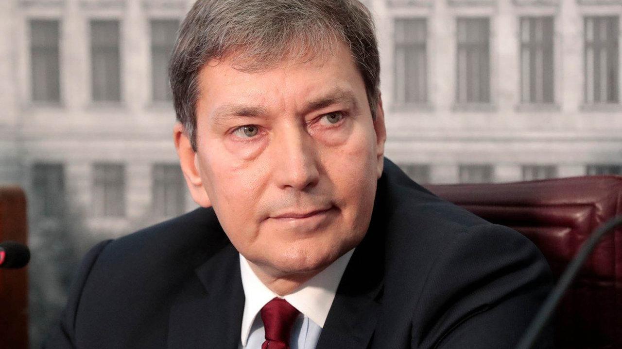 Bývalý ministr průmyslu a obchodu v demisi Tomáš Hüner.