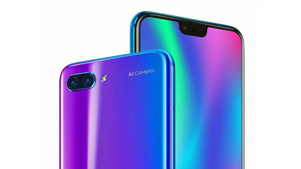 Honor 10 si bere hlavní vlastnosti z úspěšného modelu Huawei P20