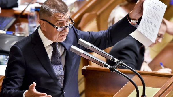 Poslanecká sněmovna vyslovila důvěru Babišově vládě.