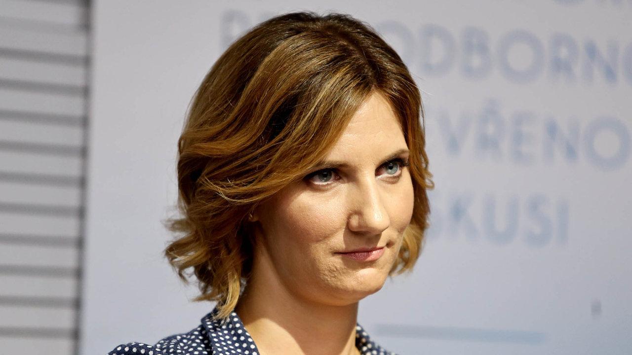 Brněnská primátorka Markéta Vaňková.