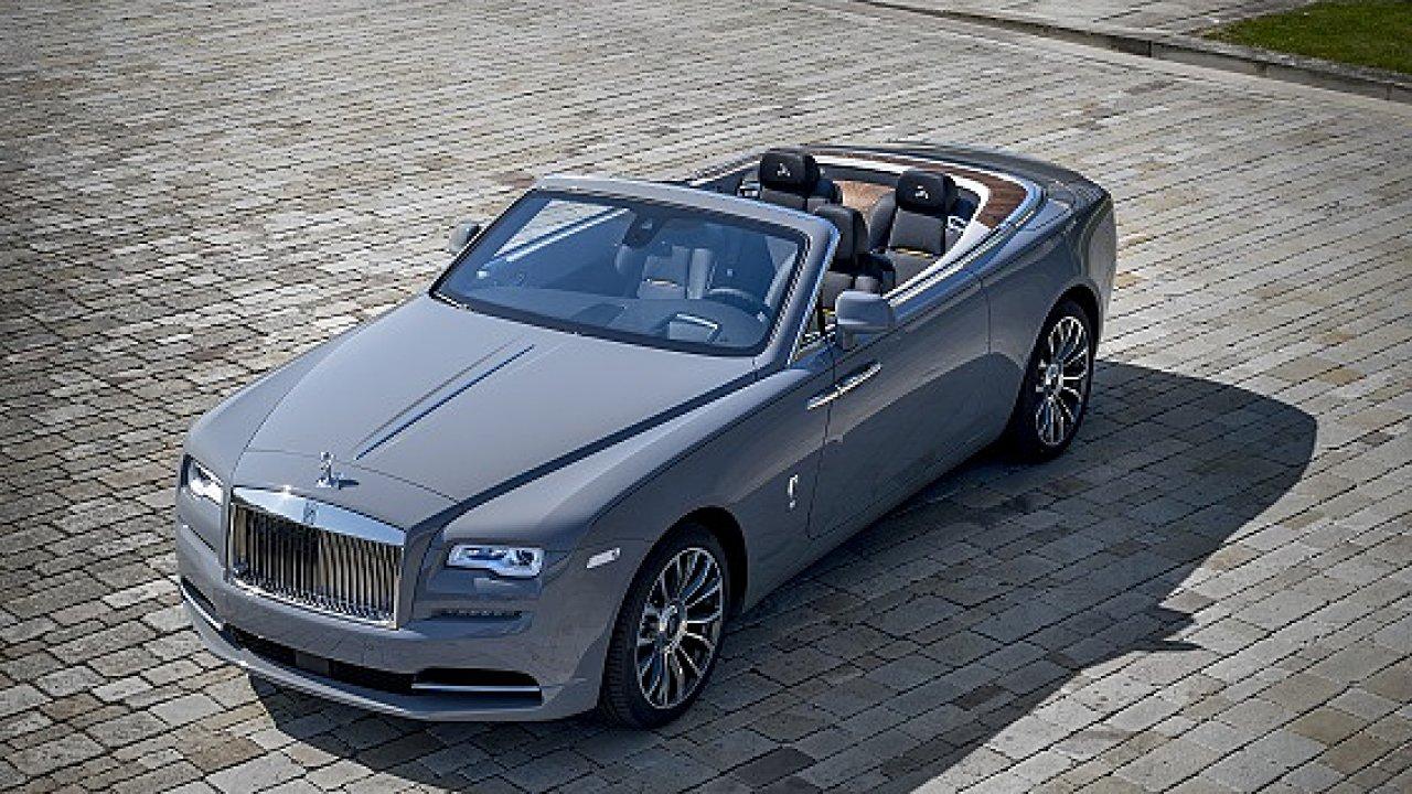 Rolls-Royce navržený k poctě českým letcům za druhé světové války.