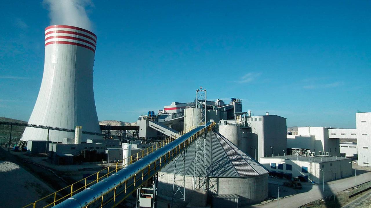 Turecká elektrárna Adularya