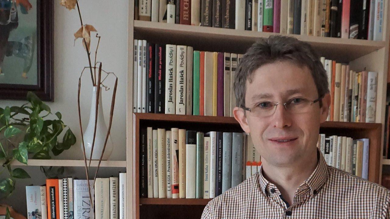 Český historik Michal Frankl z Masarykova ústavu a Archivu Akademie věd ČR.