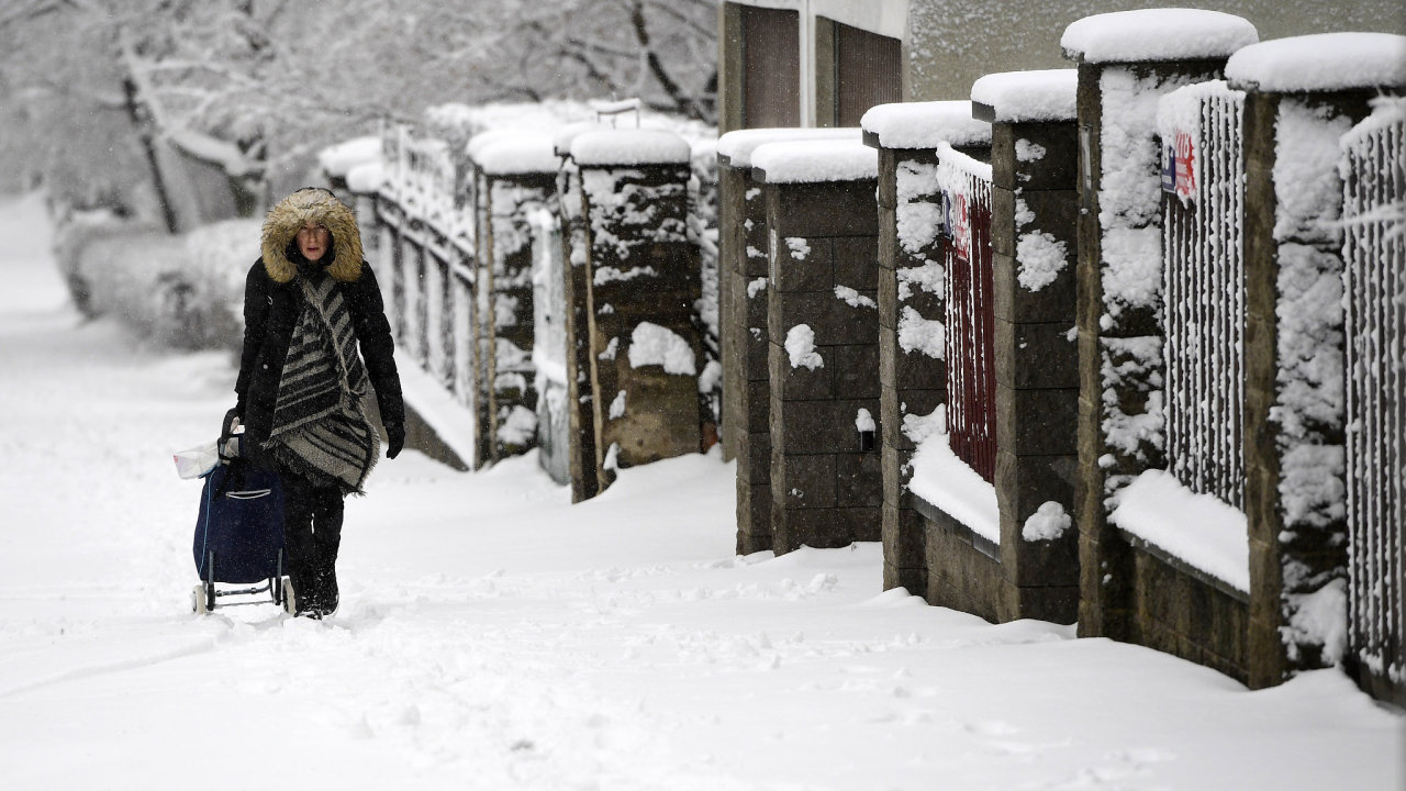 Sněhová kalamita v Česku