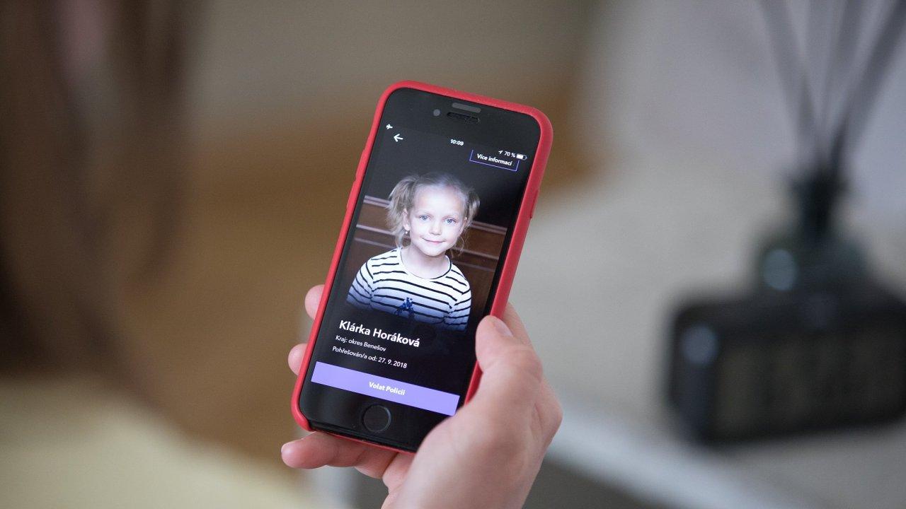 Aplikace Echo na pomoc pohřešovaným dětem