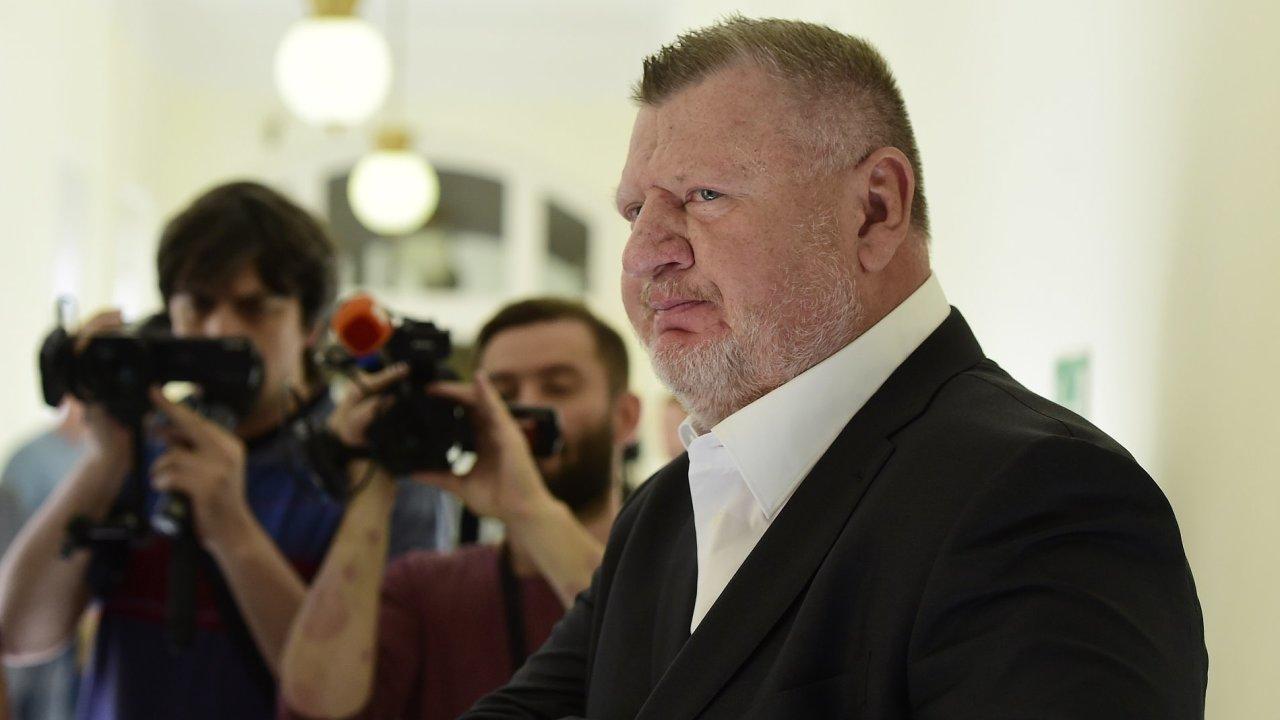 Ivo Rittig u soudu.