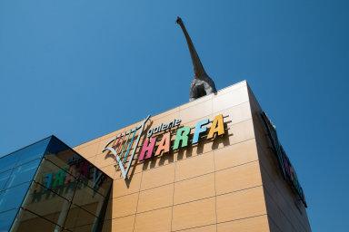 Harfa se zhodnocuje. Jednou z lukrativních nemovitostí, kam je možné investovat přes realitní fond, je nákupní a kancelářské centrum na pražské Harfě.