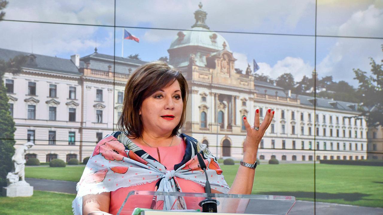 Ministryně financí Alena Schillerová připravila novelu, která má zavést změny v daňovém řádu.