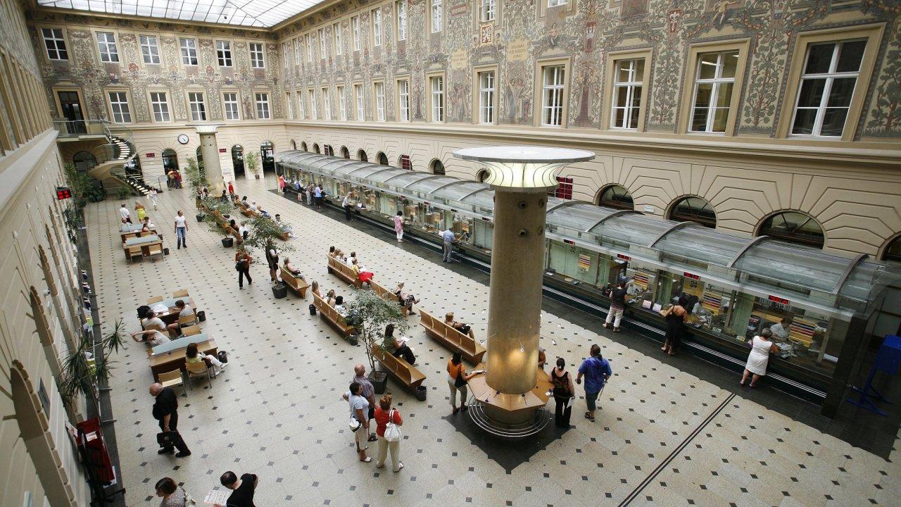Česká pošta, Jindřišská ulice, sídlo, Václavské náměstí.