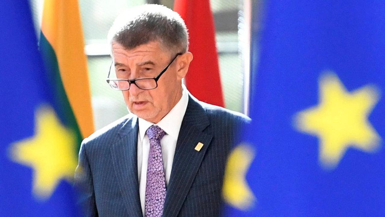 Prostě to odšéfujeme: Premiér Babiš chce ve vládě prosadit rekordně nízký rozpočet načeské předsednictví EU. Prý to zvládne s méně lidmi než třeba maličká Malta.