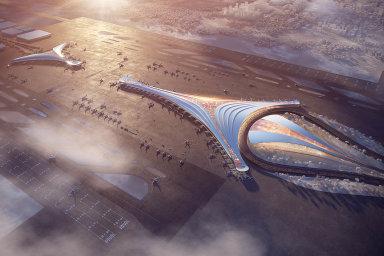 Zatím jen vizuály. Projekt nového centrálního letiště aželezničního terminálu včetně stavby tratí pro rychlovlaky je něčím, co vestřední Evropě dosud nevzniklo.