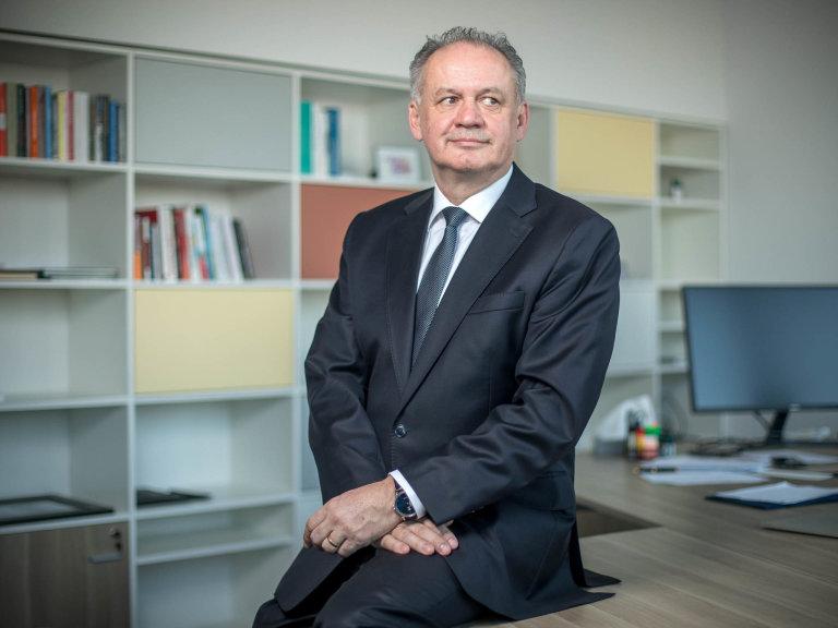 Andrej Kiska, slovenský exprezident alídr slovenské strany Zalidi.