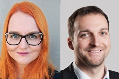 Lenka Uzun a Vlastimil Horák, management společnosti Tech Data Česká republika