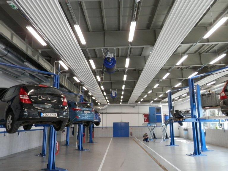Sálavé panely Euterm: využití podstropního topení sálavými panely