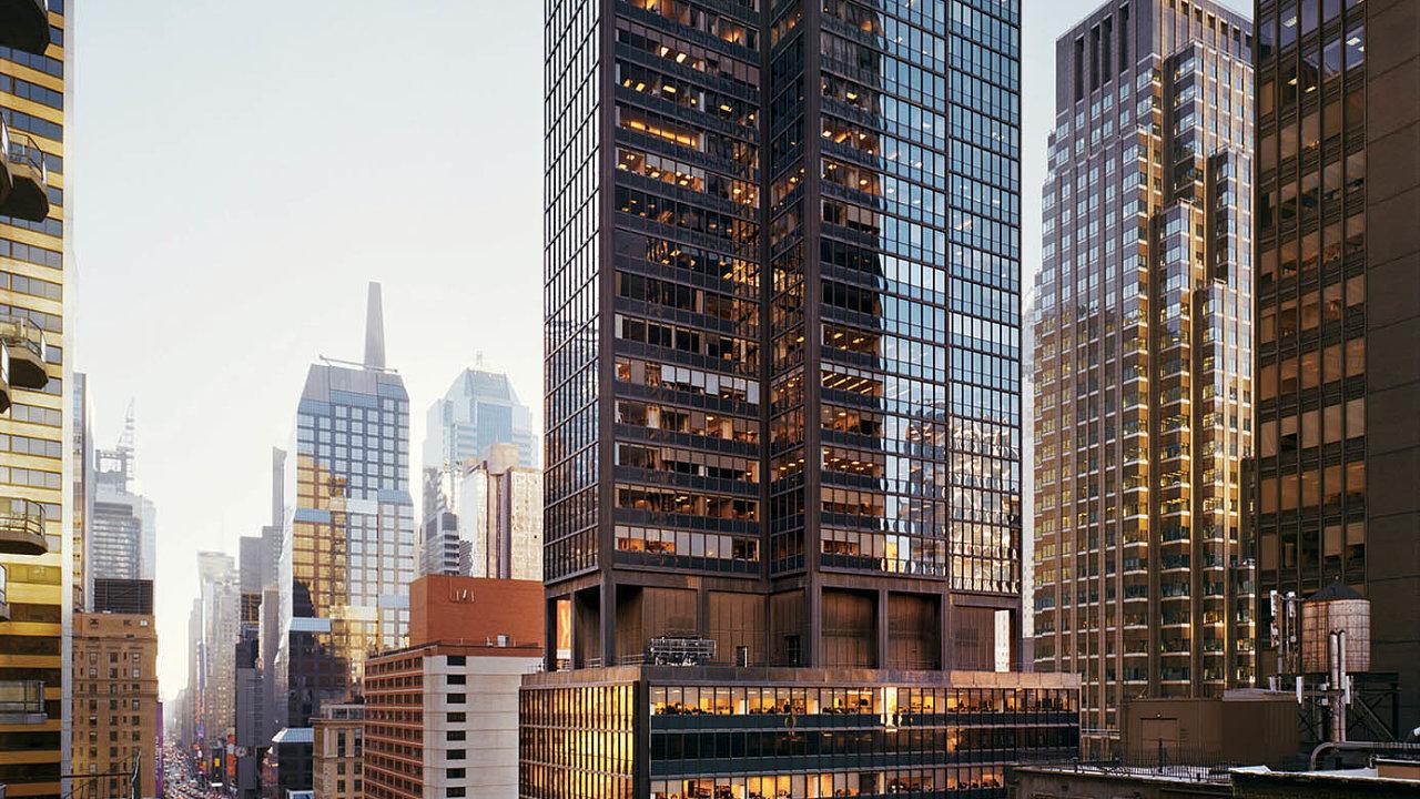 Česká firma Sharry vyvinula systém, který usnadňuje řízení práce vbudovách. Vybavila ičtvrtý největší mrakodrap vNew Yorku achystá se nadalší. Například nabudovu naSedmé avenue (nasnímku).