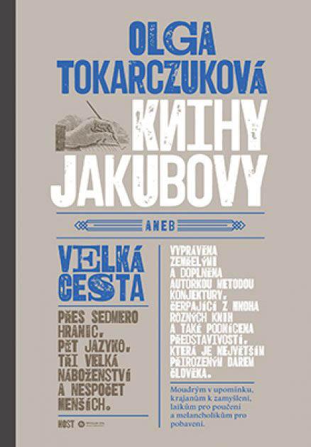 Olga Tokarczuková: Knihy Jakubovy, Host, 2016