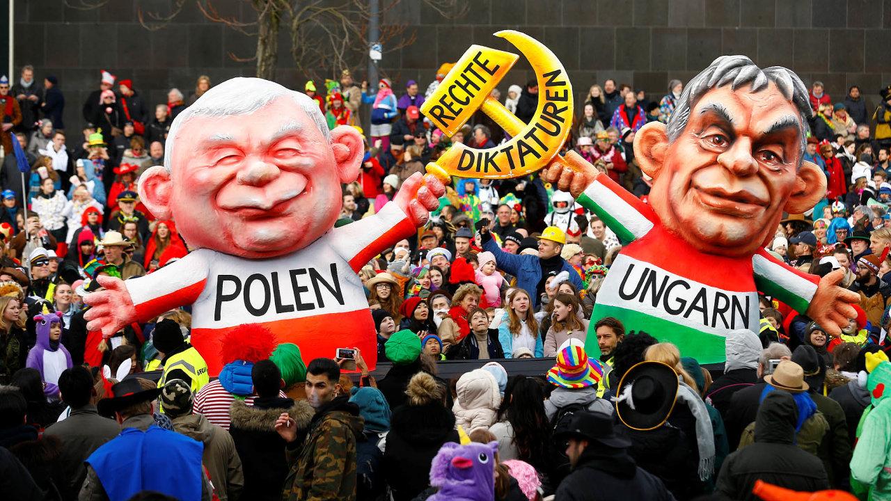 Neliberální politici jako Jarosłav Kaczyński aViktor Orbán velmi dobře pochopili, že vdobě podruhé světové válce se světová politika vdříve nevídané míře stala typem zábavy.