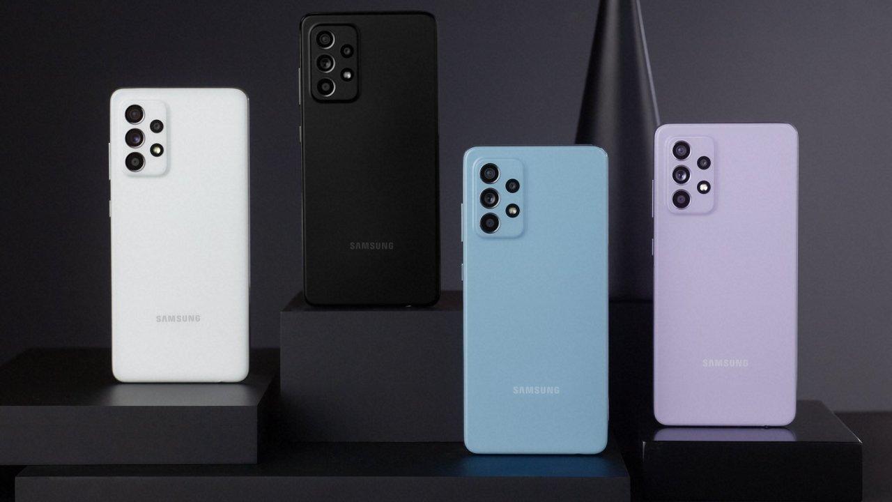Nové telefony řady Galaxy A od Samsungu jsou voděodolné a mají lepší poměr ceny a výkonu.