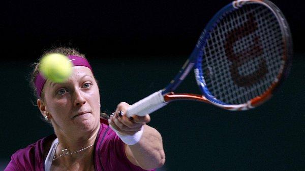 Petra Kvitová v semifinále Turnaje mistryň