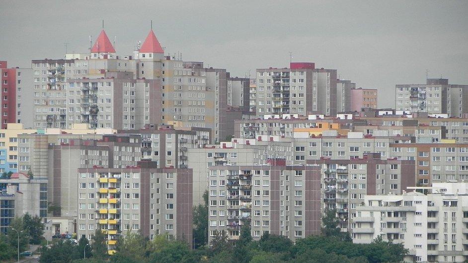 Pražské sídliště Barrandov