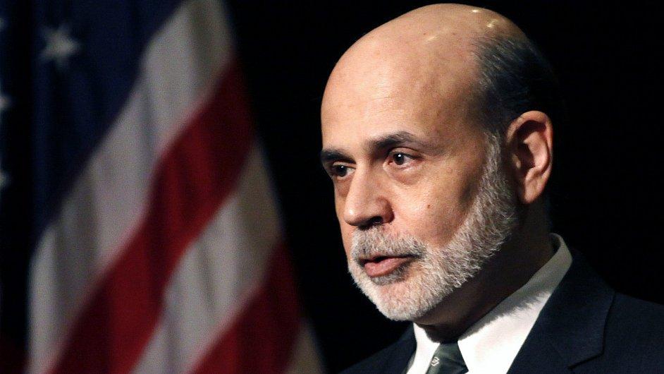 Prezident americké centrální banky Ben Bernanke