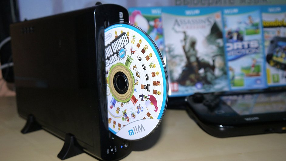 Herní konzole Nintendo Wii U ve verzi Premium