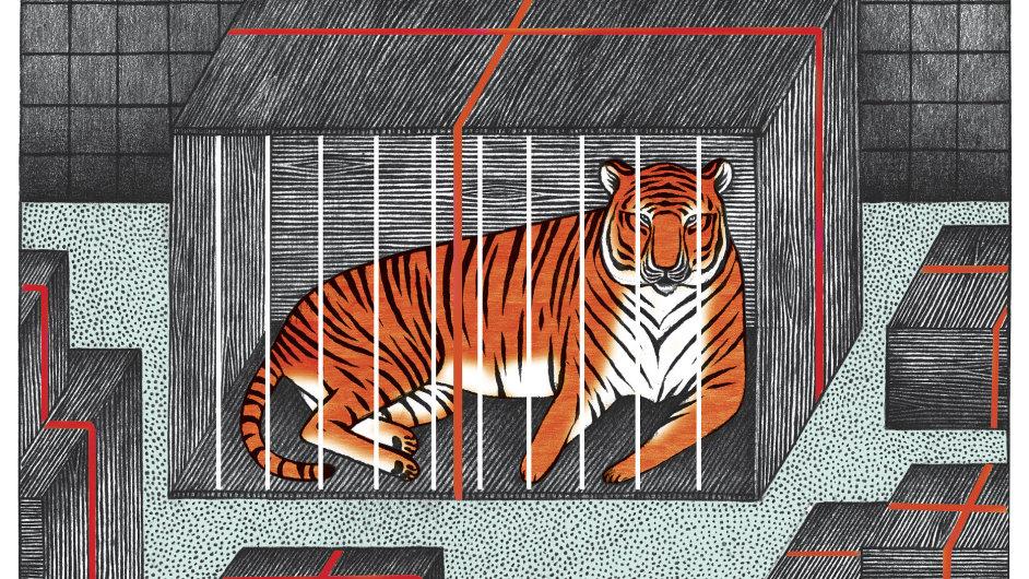 Zvířecí diplomacie. Ilustrační kresba