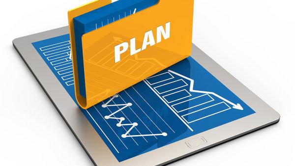 Strategické řízení, plán, efektivní řízení. Ilustrační foto.