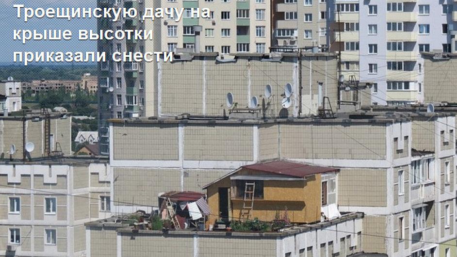 Chatu na střeše přikázali zbourat