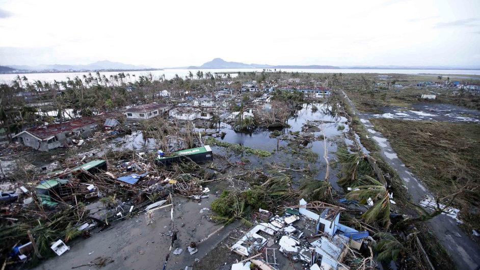 Zdevastované město Tacloban