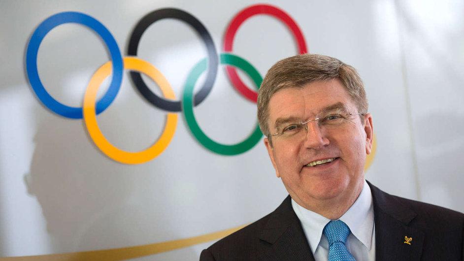 Thomas Bach, předseda Mezinárodního olympijského výboru