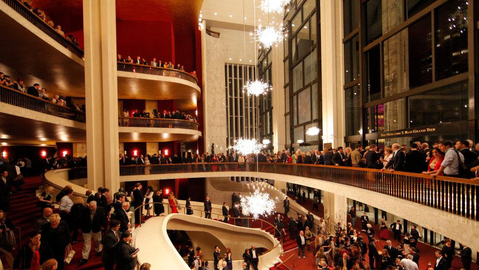 V pondělí začíná prodej abonmá na přenosy z Metropolitní opery.