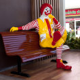 Maskot spole�nosti - klaun Ronald McDonald