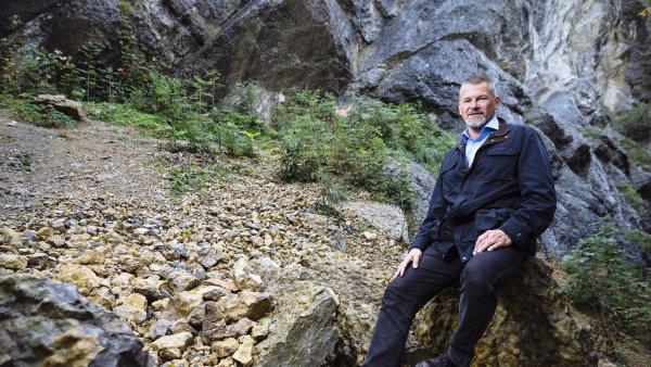 Ředitel české geologické služby Zdeněk Venera