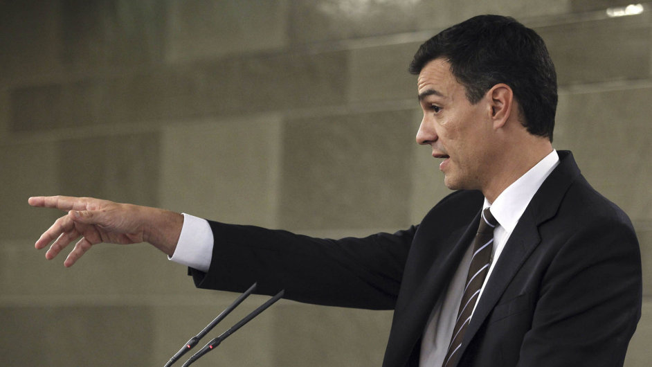 Budoucí premiér Španělska? Generální tajemník PSOE Pedro Sánchez.