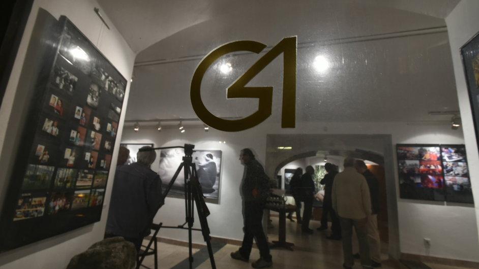 Snímek z výstavy v Galerii 4