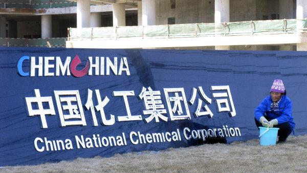 Nejv�t�� ��nsk� investice v N�mecku. ChemChina koup� v�robce um�l�ch hmot za t�m�� miliardu eur