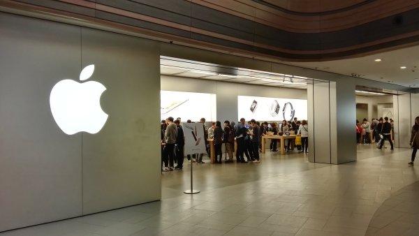 Apple Store v Šanghaji