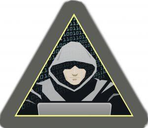 Kyberneteický útok, hacker, ilustrace